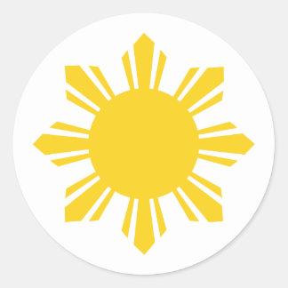 フィリピンによって   収穫される太陽、フィリピン ラウンドシール