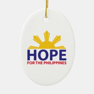 フィリピンのための希望 セラミックオーナメント