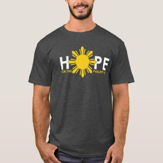 フィリピンのための希望 Tシャツ