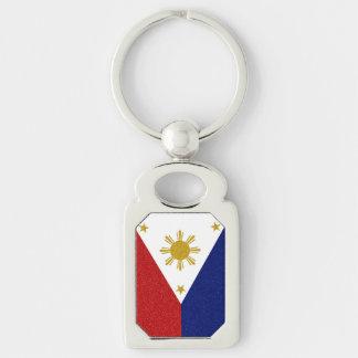 フィリピンのグリッターの旗 キーホルダー