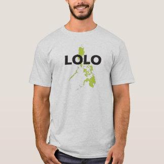フィリピンの地図上のLolo Tシャツ