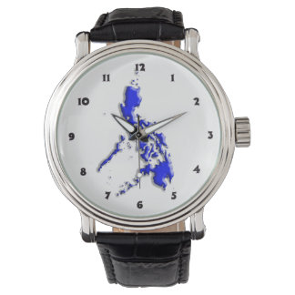 フィリピンの地図 腕時計