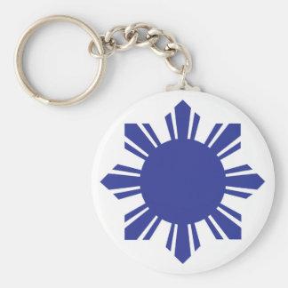フィリピンの太陽の青 キーホルダー