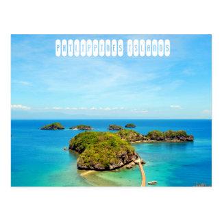 フィリピンの島 ポストカード