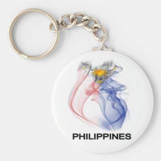 フィリピンの旗の煙 キーホルダー