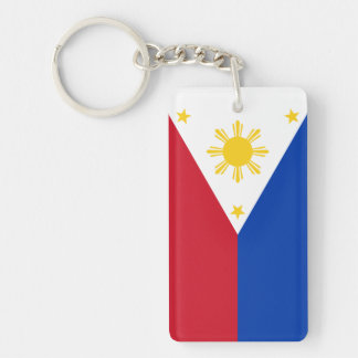 フィリピンの旗を個人化して下さい キーホルダー