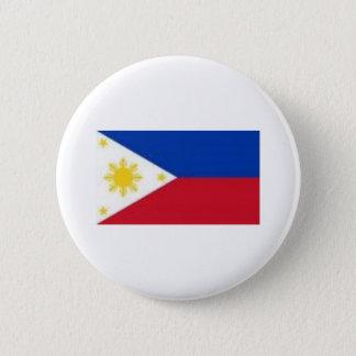 フィリピンの旗プロダクト 5.7CM 丸型バッジ