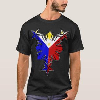 フィリピンの旗日曜日および星 Tシャツ