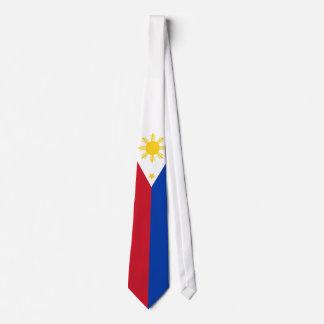 フィリピンの旗 カスタムネクタイ