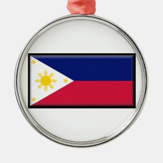 フィリピンの旗 メタルオーナメント