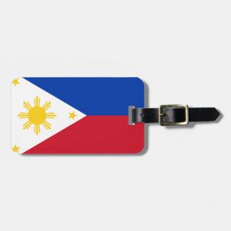 フィリピンの旗 ラゲッジタグ