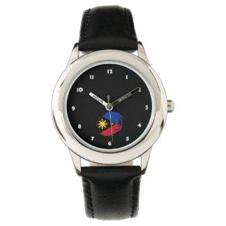 フィリピンの旗 腕時計