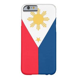 フィリピンの旗 BARELY THERE iPhone 6 ケース