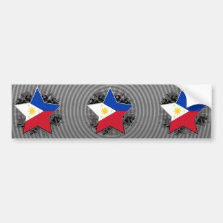 フィリピンの星 バンパーステッカー
