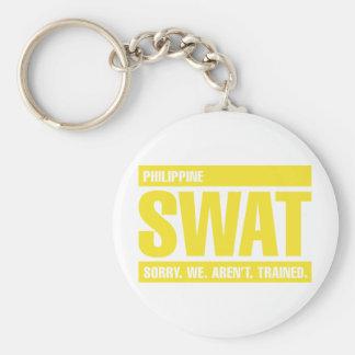 フィリピンの殴打-黄色 キーホルダー