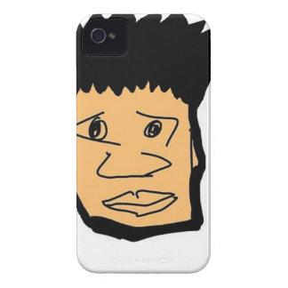 フィリピンの男の子の漫画の顔のコレクション Case-Mate iPhone 4 ケース