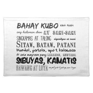 フィリピンの童謡シリーズ ランチョンマット