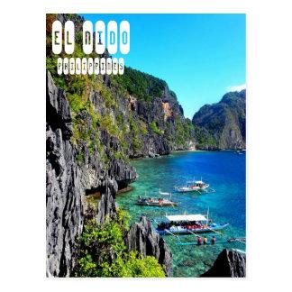 フィリピンの郵便はがきのEl Nido ポストカード