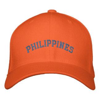 フィリピンの野球帽 刺繍入りキャップ