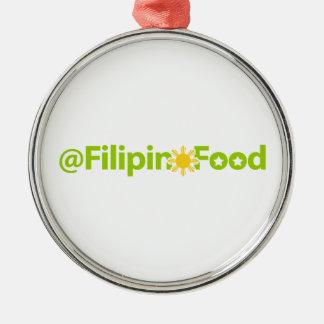 フィリピンの食糧 メタルオーナメント
