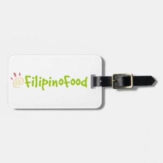 フィリピンの食糧 ラゲッジタグ