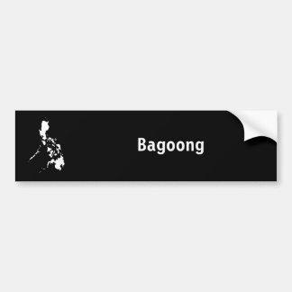 フィリピンの黒 バンパーステッカー