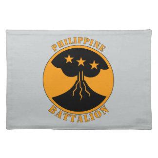 フィリピンのBatttalion W/Text ランチョンマット