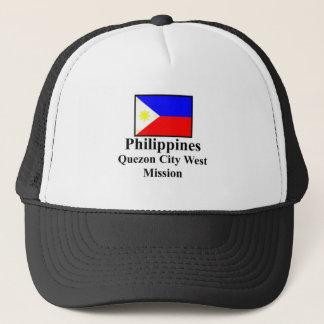 フィリピンケソンの西の代表団の帽子 キャップ