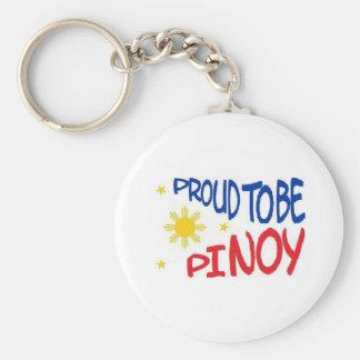 フィリピン人があること誇りを持った キーホルダー