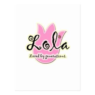 フィリピン人のLolaの母の日のギフト ポストカード