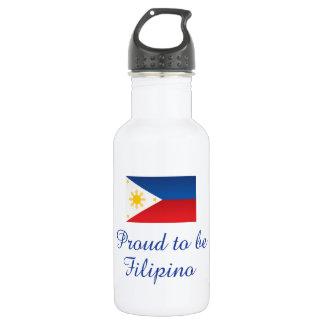 フィリピン人1があること誇りを持った ウォーターボトル