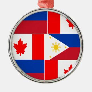 フィリピン人Canadian.png メタルオーナメント