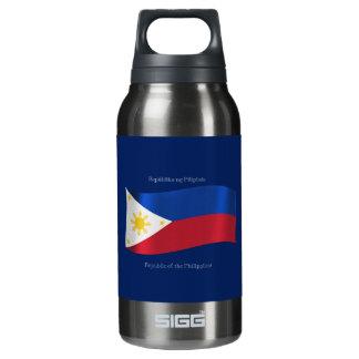 フィリピン共和国の旗 断熱ウォーターボトル