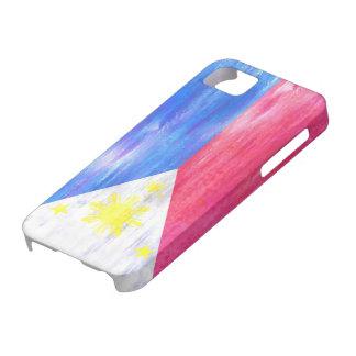 フィリピン動揺してなPhilippinoの旗 iPhone SE/5/5s ケース