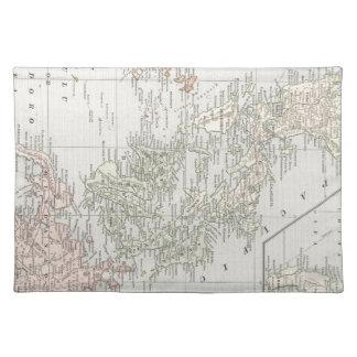 フィリピン島(1901年)のヴィンテージの地図 ランチョンマット