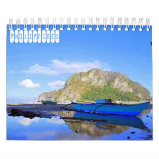フィリピン旅行 カレンダー