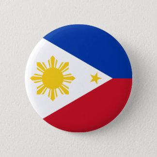 フィリピン 5.7CM 丸型バッジ