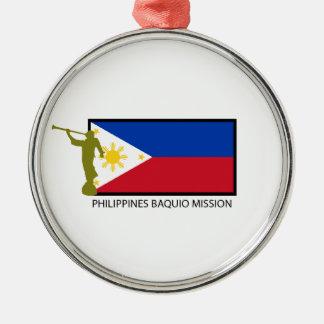 フィリピンBAQUIOの代表団LDS CTR メタルオーナメント