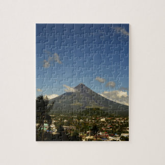 フィリピンBicolマヨン山の写真撮影 ジグソーパズル
