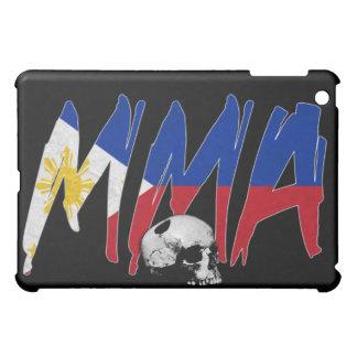 フィリピンMMAのスカルの黒のiPadの場合 iPad Miniカバー