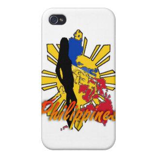 フィリピンW/Girl Iphone4の例 iPhone 4/4S ケース