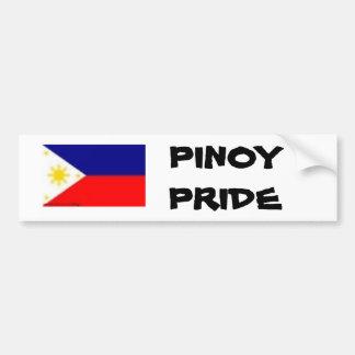 フィルの旗、フィリピン人のプライド バンパーステッカー