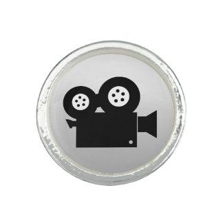 フィルムのカメラのデザインの銀によってめっきされるリング リング