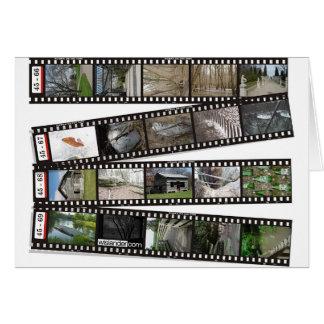 フィルムのストリップの2003-04年の挨拶状 カード