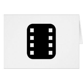 フィルムのストリップ カード