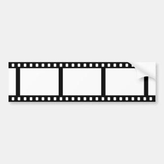 フィルムのストリップ バンパーステッカー