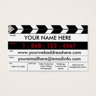 フィルムの生産のフィルムの石板の名刺 名刺