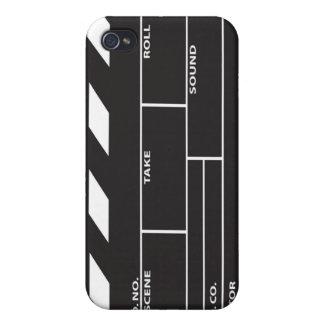 フィルムのClapperboardのiPhone 4/4Sの場合カバー iPhone 4/4S Cover