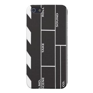 フィルムのClapperboardのiPhone 4/4Sの場合カバー iPhone SE/5/5sケース