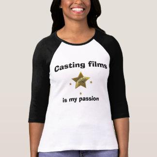 フィルムを投げることは私の情熱です Tシャツ